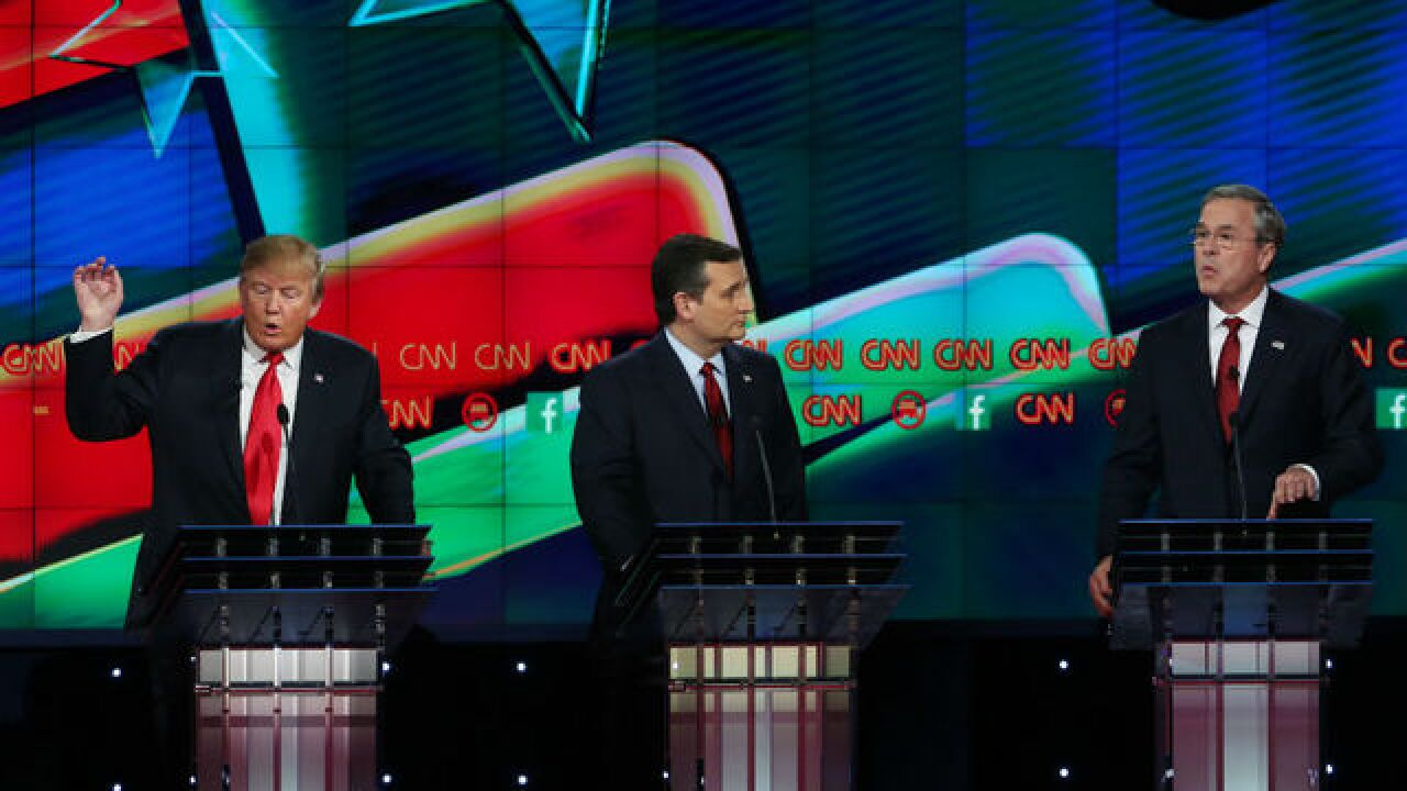 Cruz and Rubio clash in fifth Republican debate