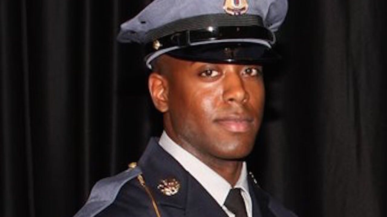 Maryland officer was killed by friendly fire