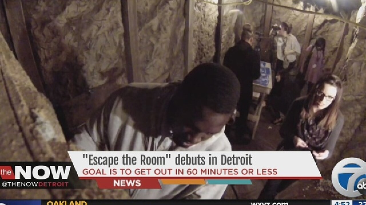 'Escape the Room' game to open in Detroit