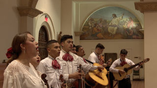Mariachi groups are back inside St. Augustine Cathedral after more than a year hiatus due to the pandemic.