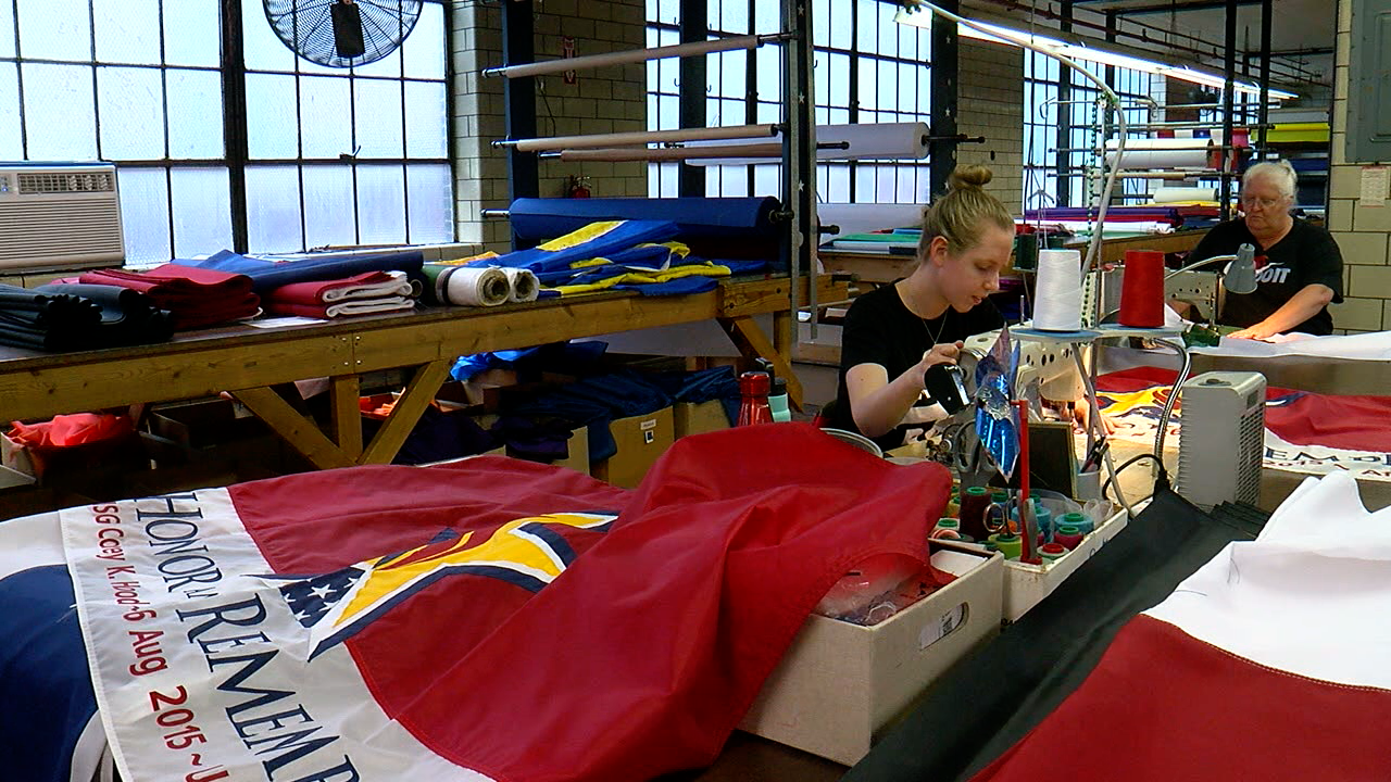 Honor and Remember Flag being made.png