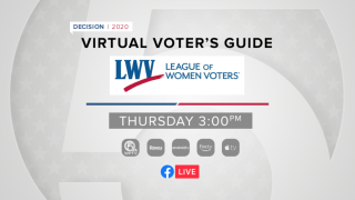 'Virtual Voter's Guide' presented by League of Women Voters