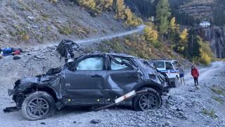 Crash on Black Bear Pass_Sept 26 2021