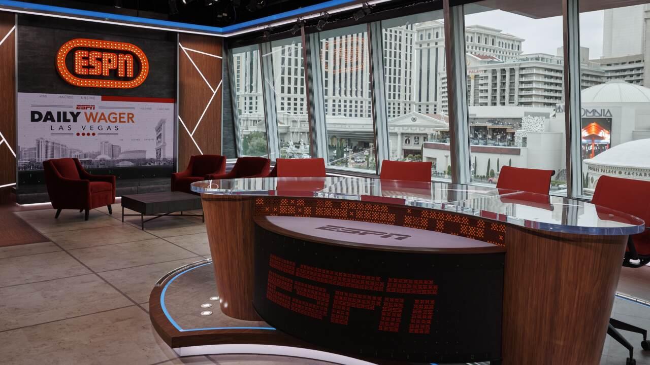 ESPN Las Vegas Studio - March, 10, 2020