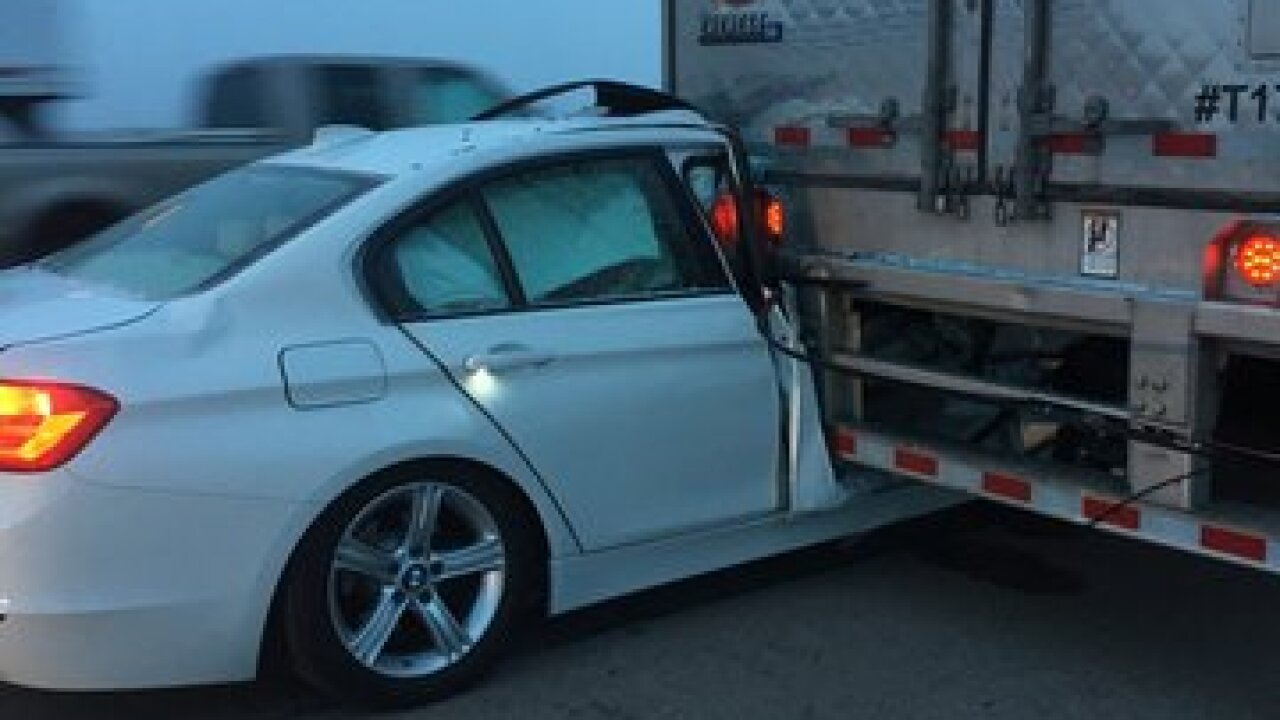 NSP: Driver walks away from high-speed DUI crash