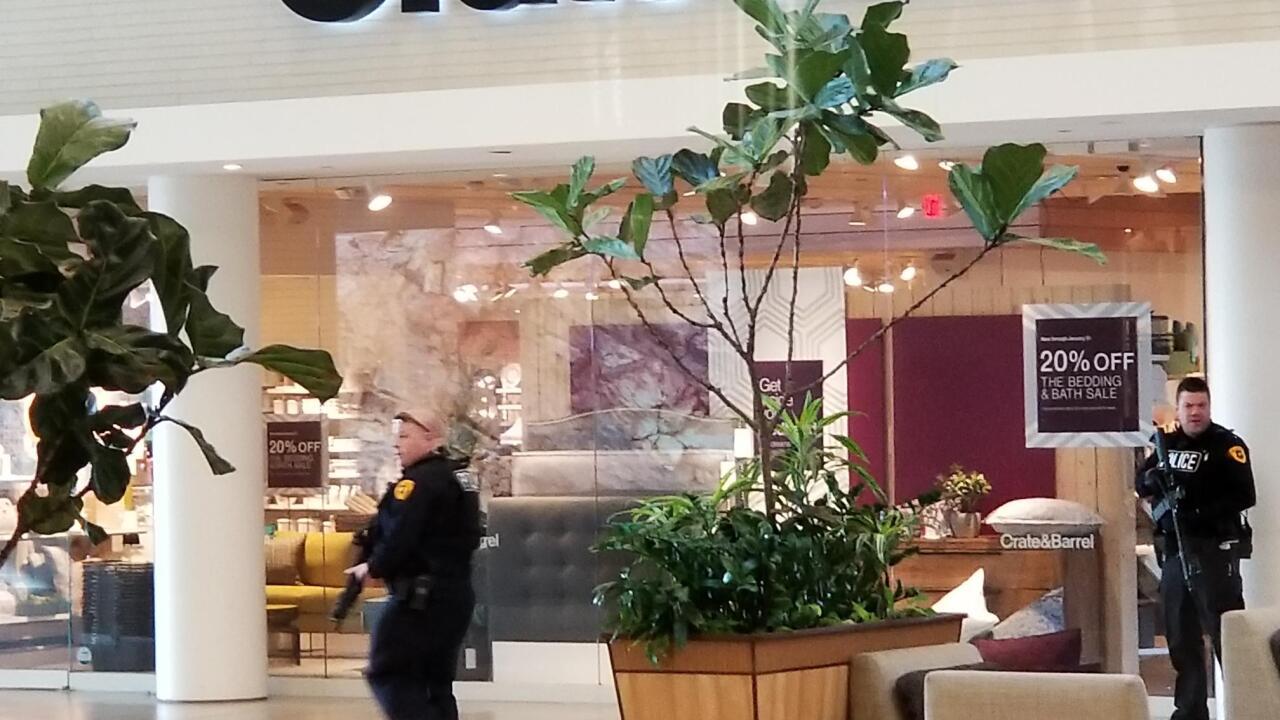 Fashion Place Mall says unrelated fire alarm went off moments before shooting occurred