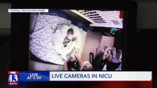 Live cameras in the NICU