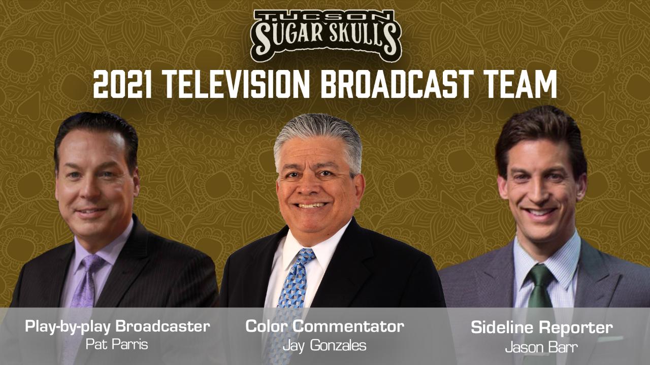The Tucson Sugar Skulls announced the broadcast team for the 2021 season.