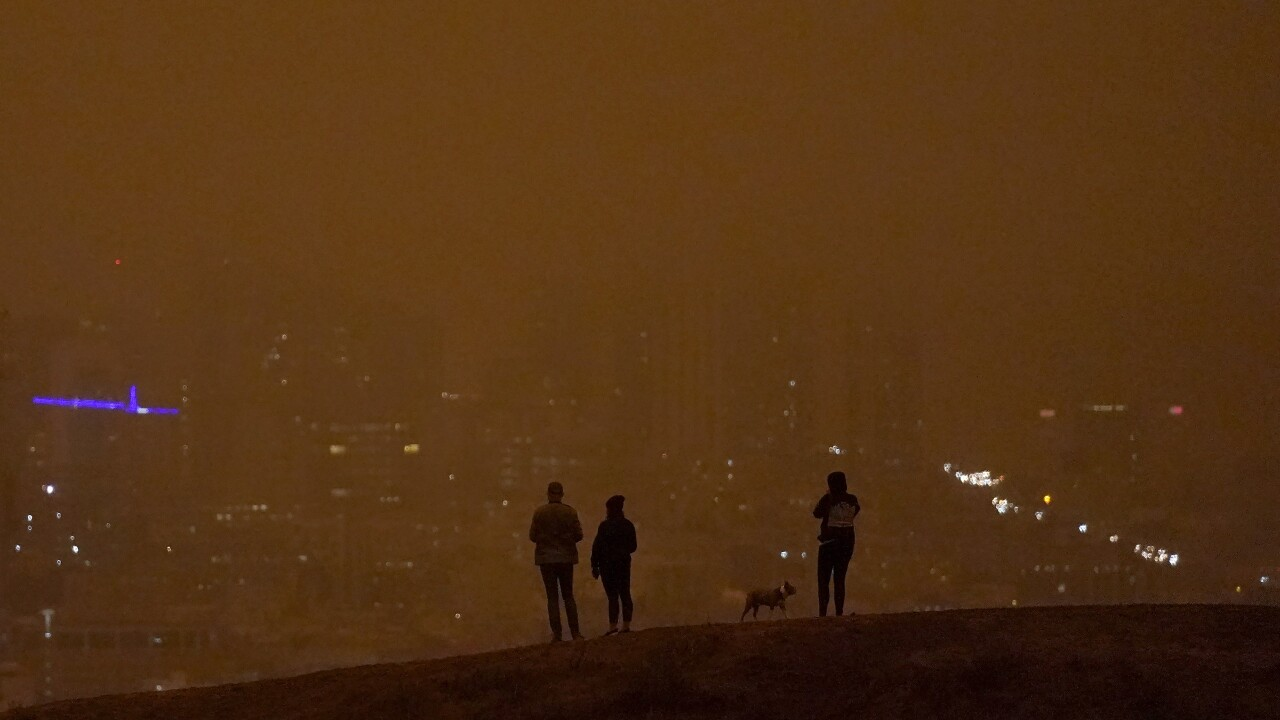 Wildfires Smoky Skies