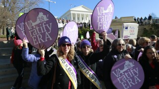 Virginia becomes 38th state to ratify Equal RightsAmendment