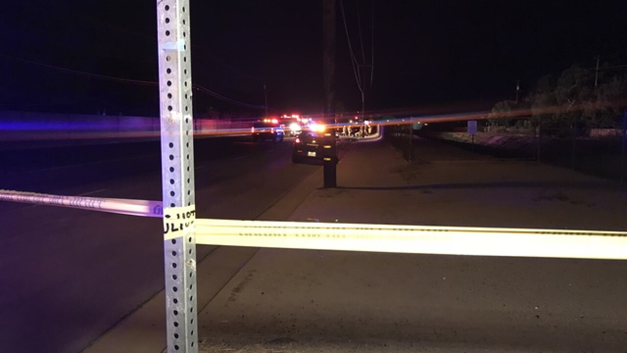 Woman struck and killed by vehicle
