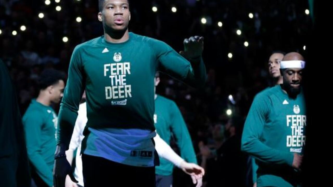 Milwaukee Bucks land Christmas Day game for the first time since 1977