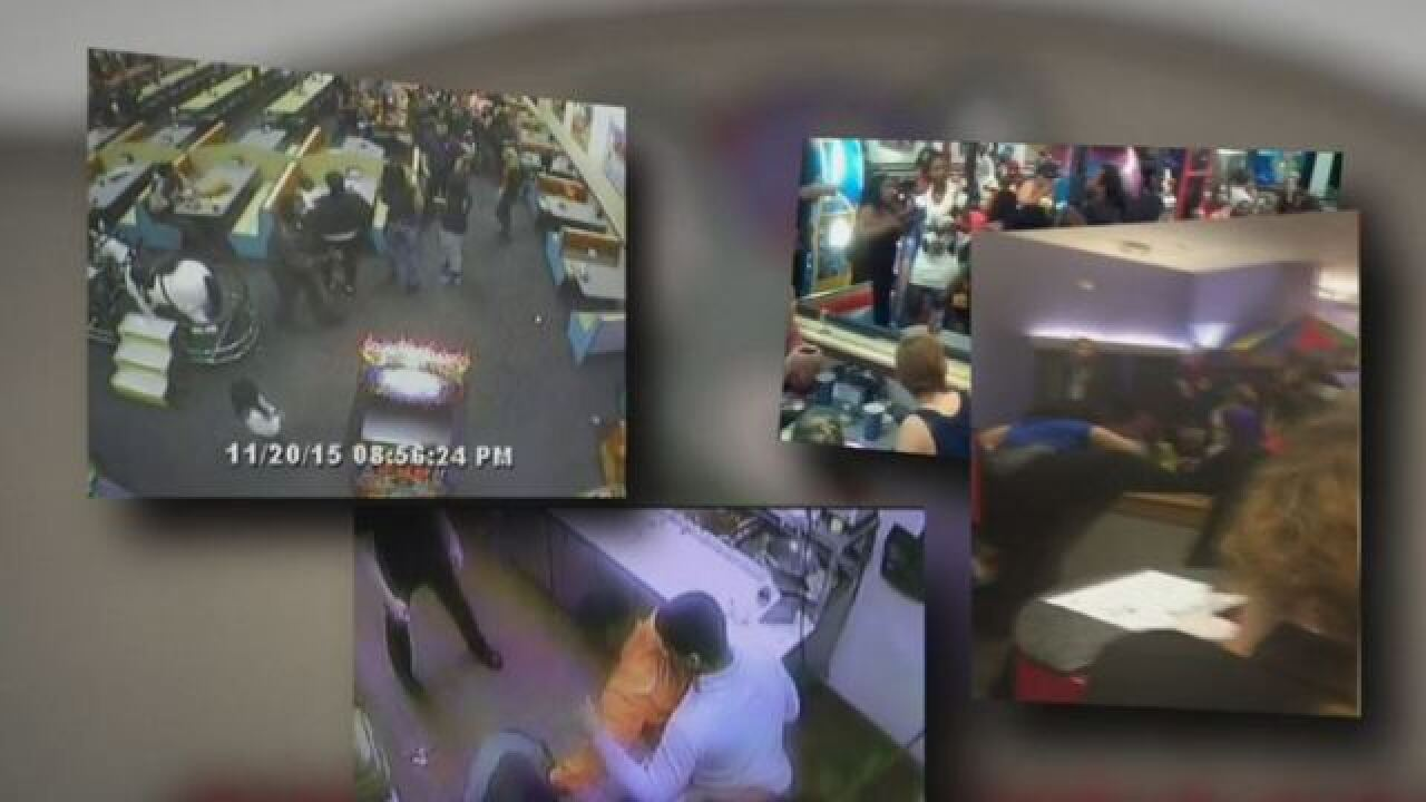 Violent brawls erupt inside Chuck E. Cheese