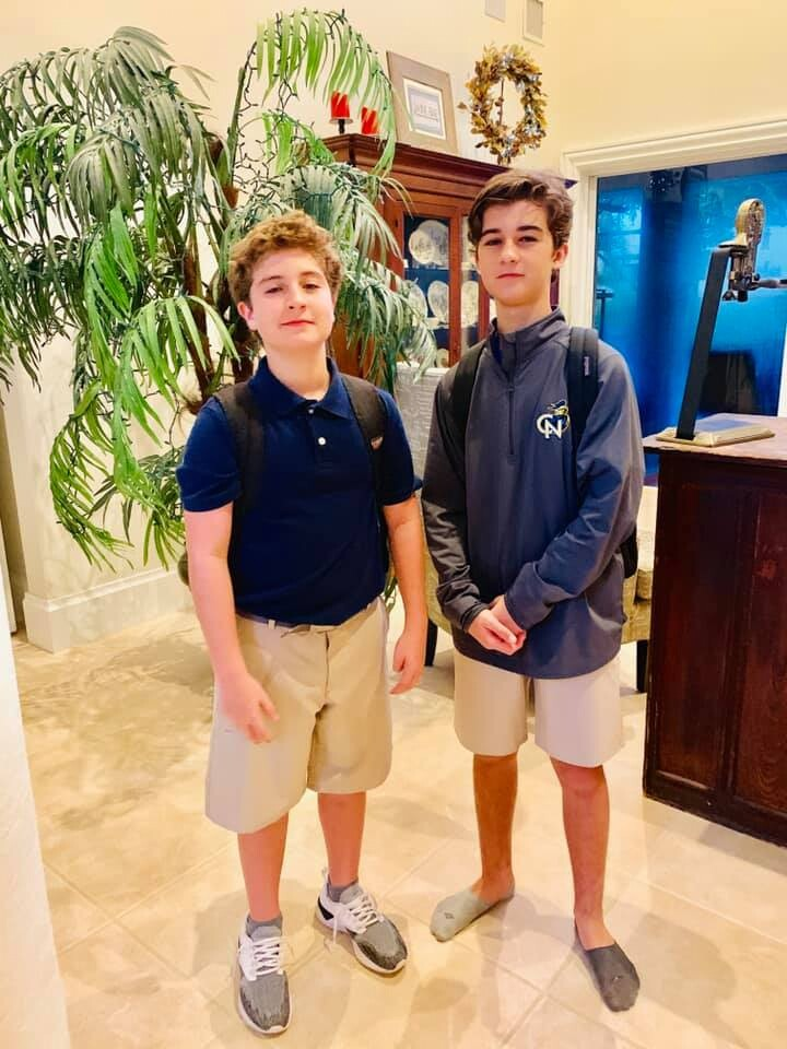 Kyle-Freshman-Cardinal Newman and Quinn-5th Grade-Panther Run !!!