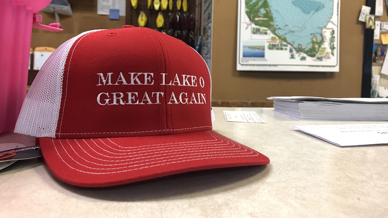 Flight restrictions indicate President Trump may visit Lake Okeechobee on Friday