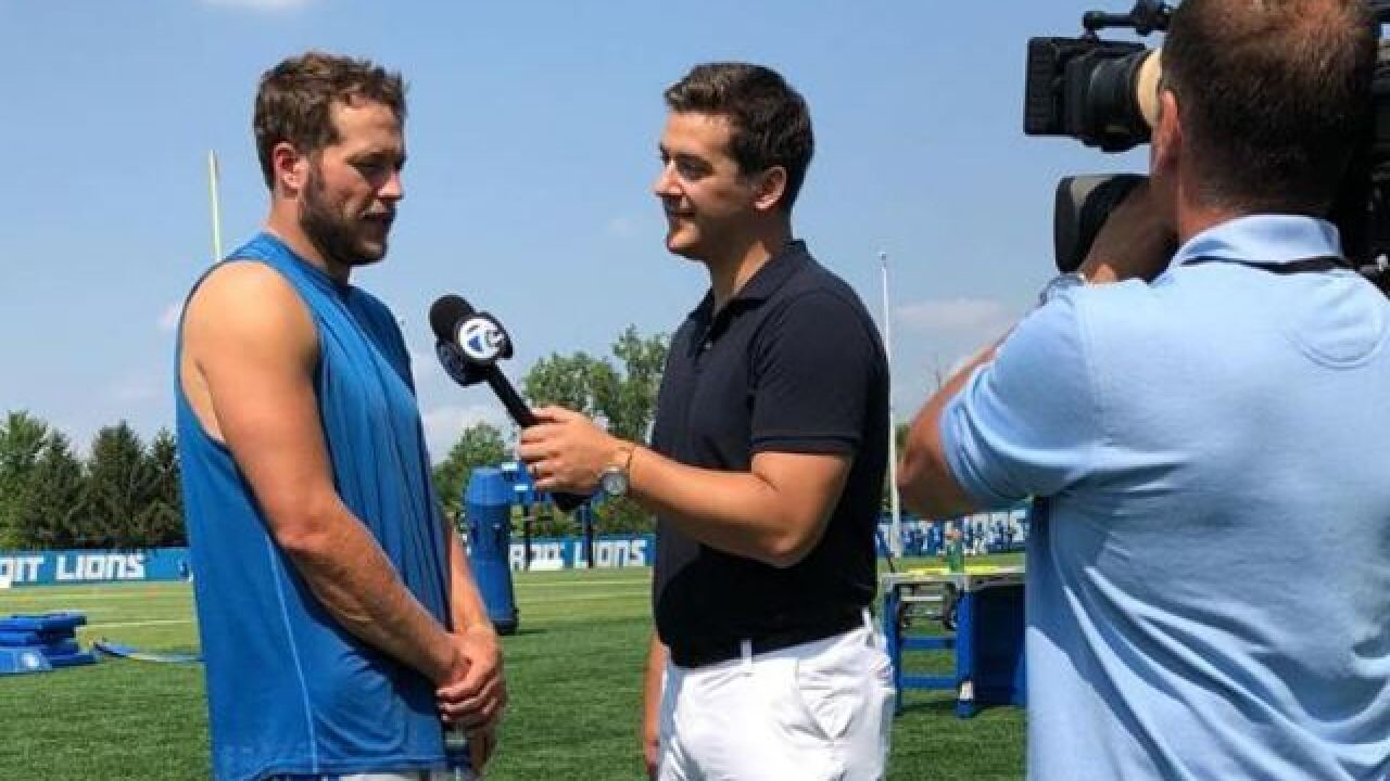 10 years in Detroit: Matthew Stafford talks football, family, and his Super Bowl goal