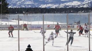 CORRECTION Golden Knights Avalanche Hockey