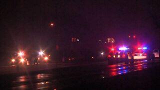 Officer struck killed pedestrian kentucky avenue 041220.JPG