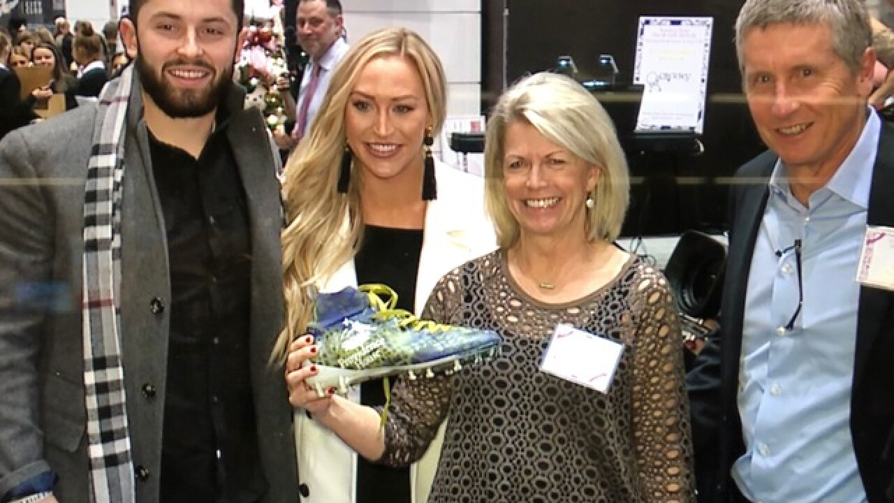 Baker Mayfield raised how much money?!?!