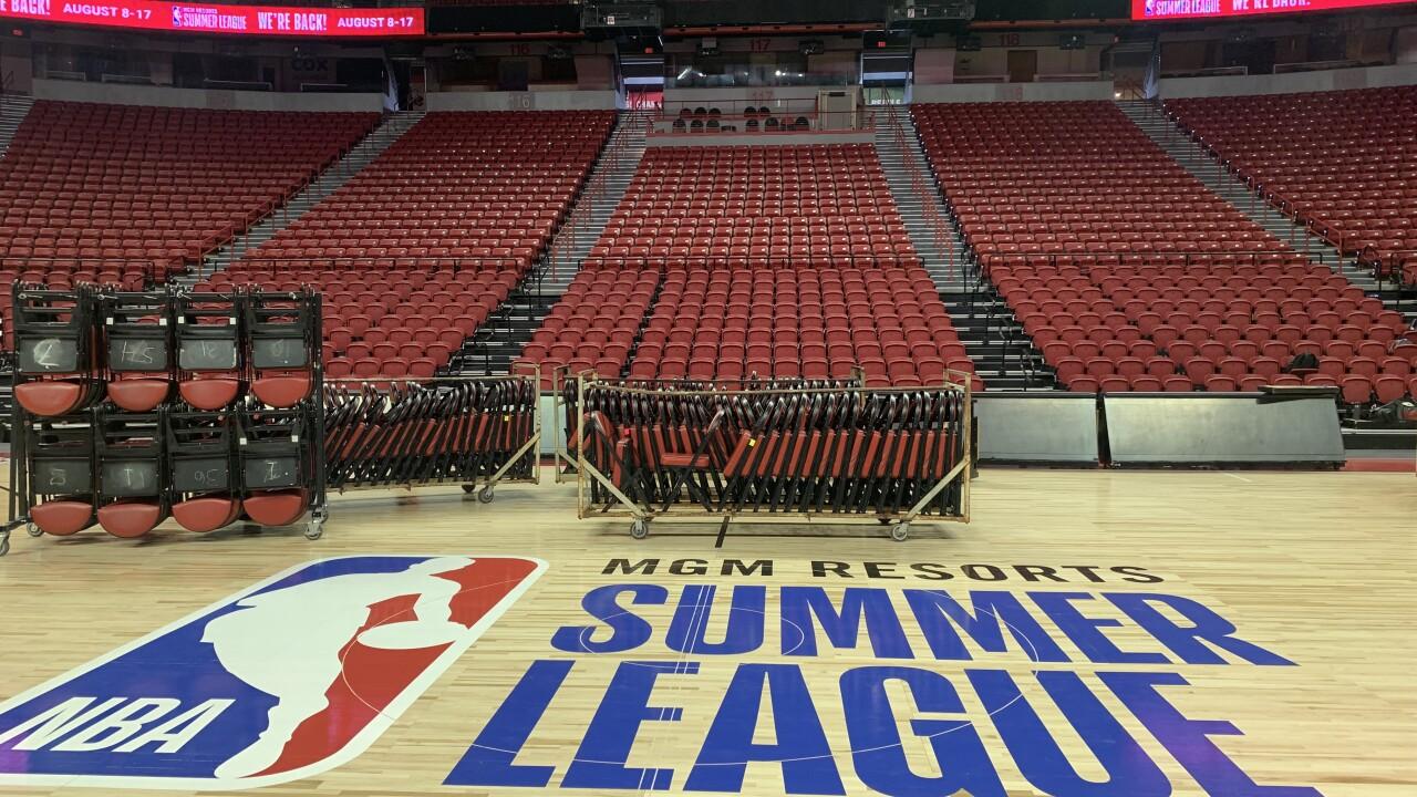 Las Vegas ready to host NBA Summer League again in era of COVID-19