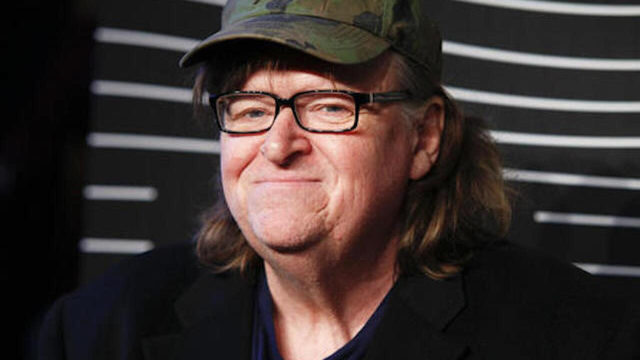 Michael Moore debuts film on Trump weeks before vote