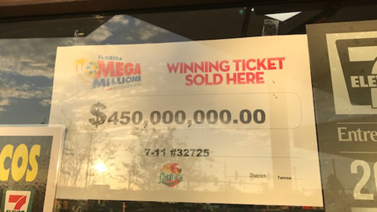 20-year-old Florida man claims Mega Millions win