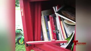 "Vandalizan casetas ""Free Little Library"""