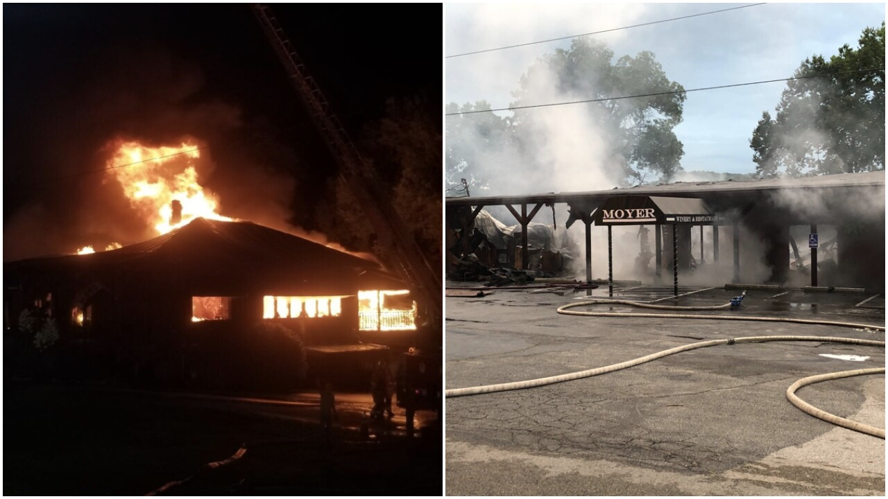 Fire destroys beloved Ohio winery