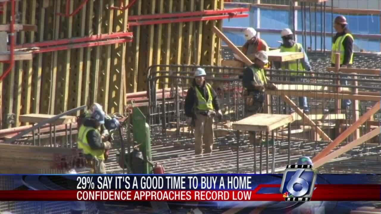 Confidence in housing market waning