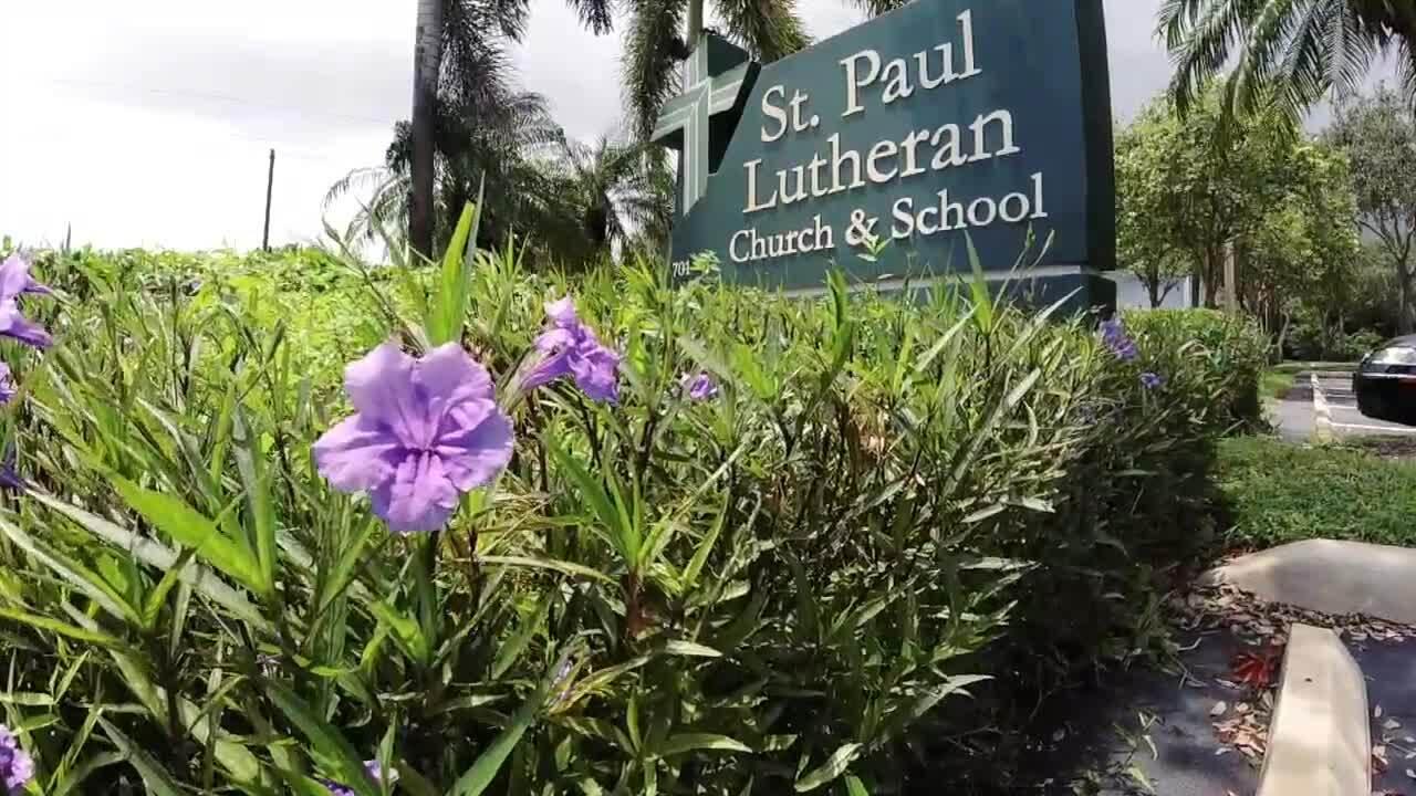 St. Paul Lutheran Church & School sign