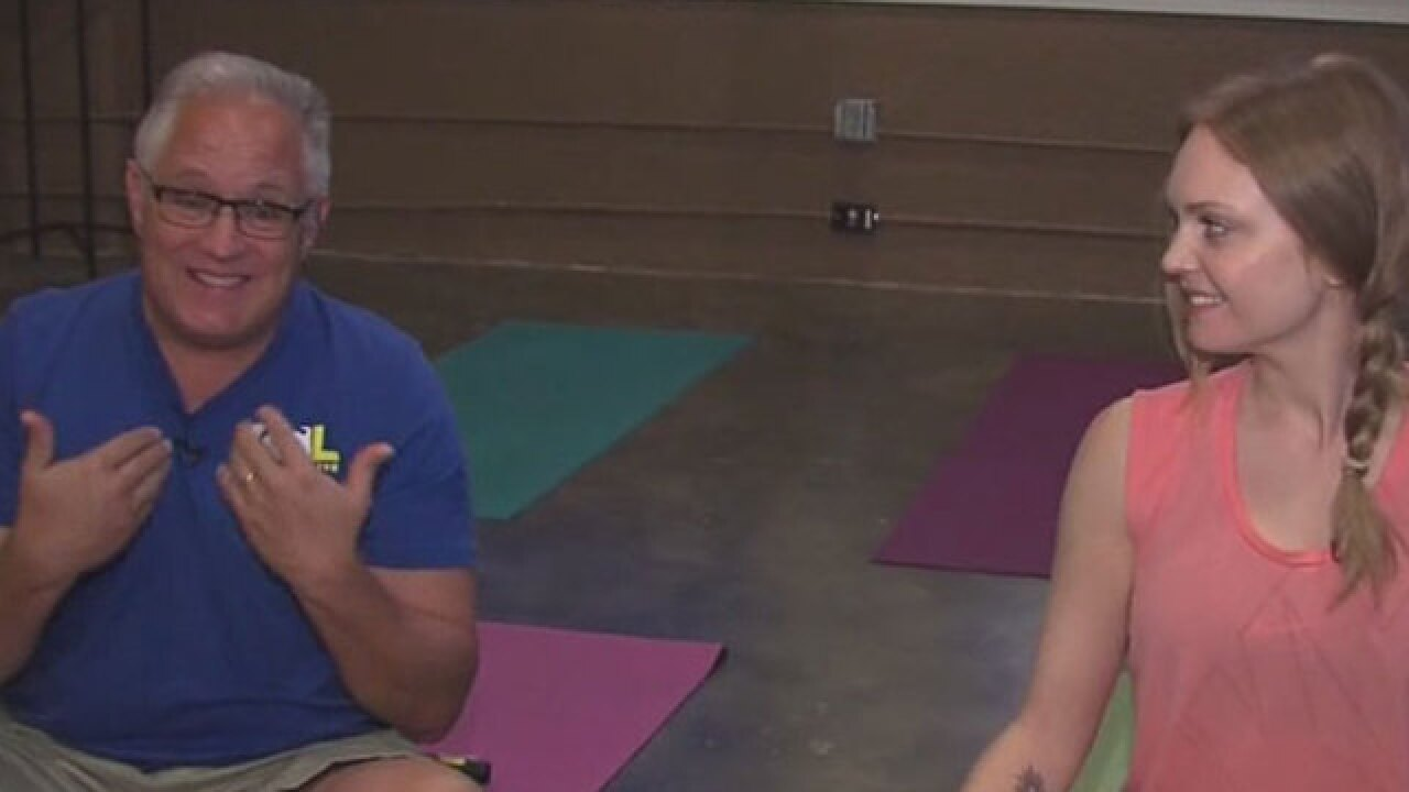 Donation-based yoga studio opens