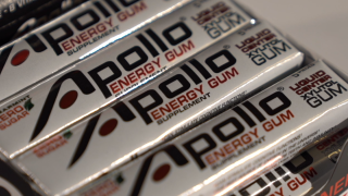 Caffeinated gum promises boost of energy
