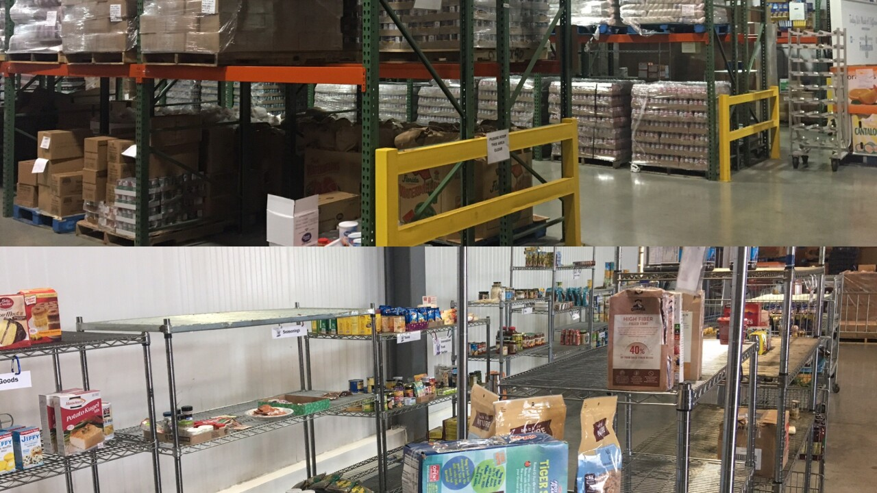 U.S.-China trade disputes pack shelves at local food banks, but there's a catch and they need ourhelp