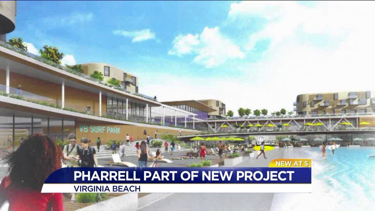 Pharrell Williams involved in new plans for Virginia Beachvenue