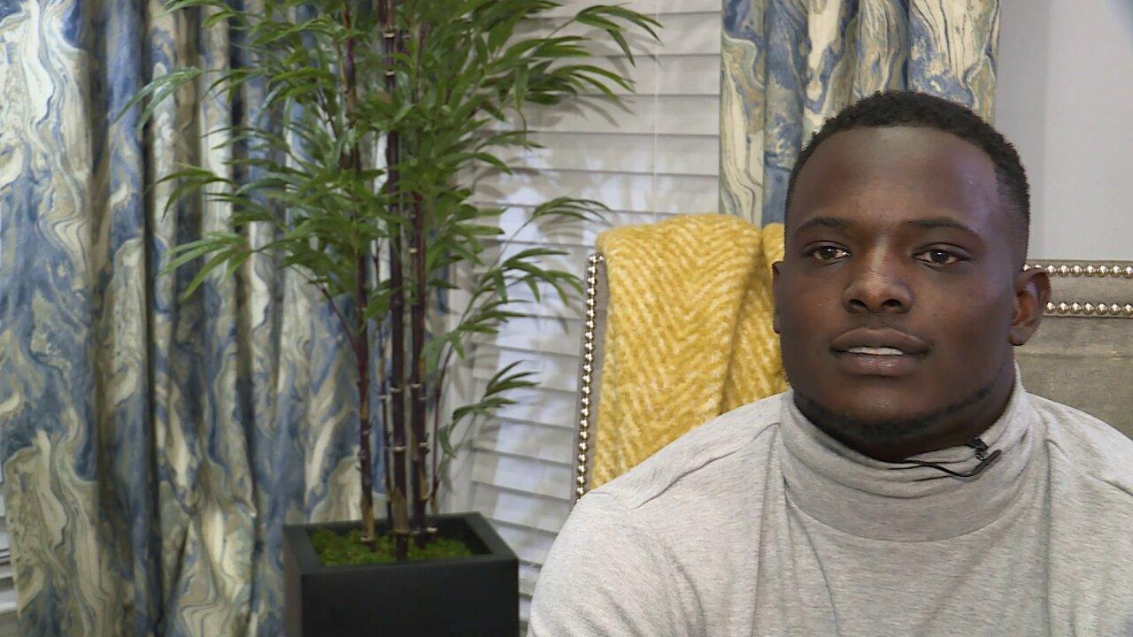 VUU's Tabyus Taylor will enter the 2020 NFLDraft