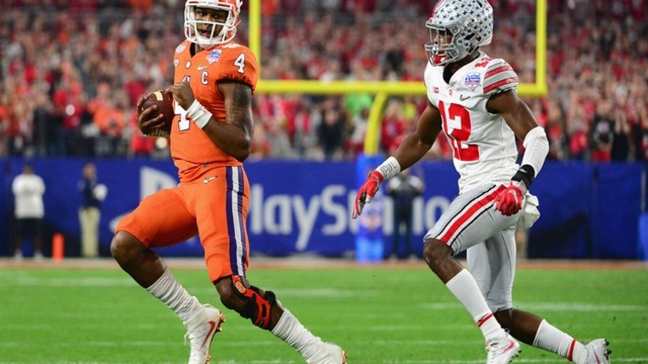 Ohio State shut out by Clemson, loses Fiesta Bowl 31-0