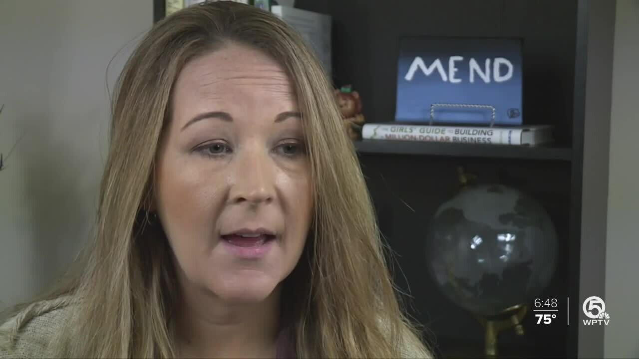 Nicole Anderson, CEO of MEND, a human resources solution firm in West Palm Beach