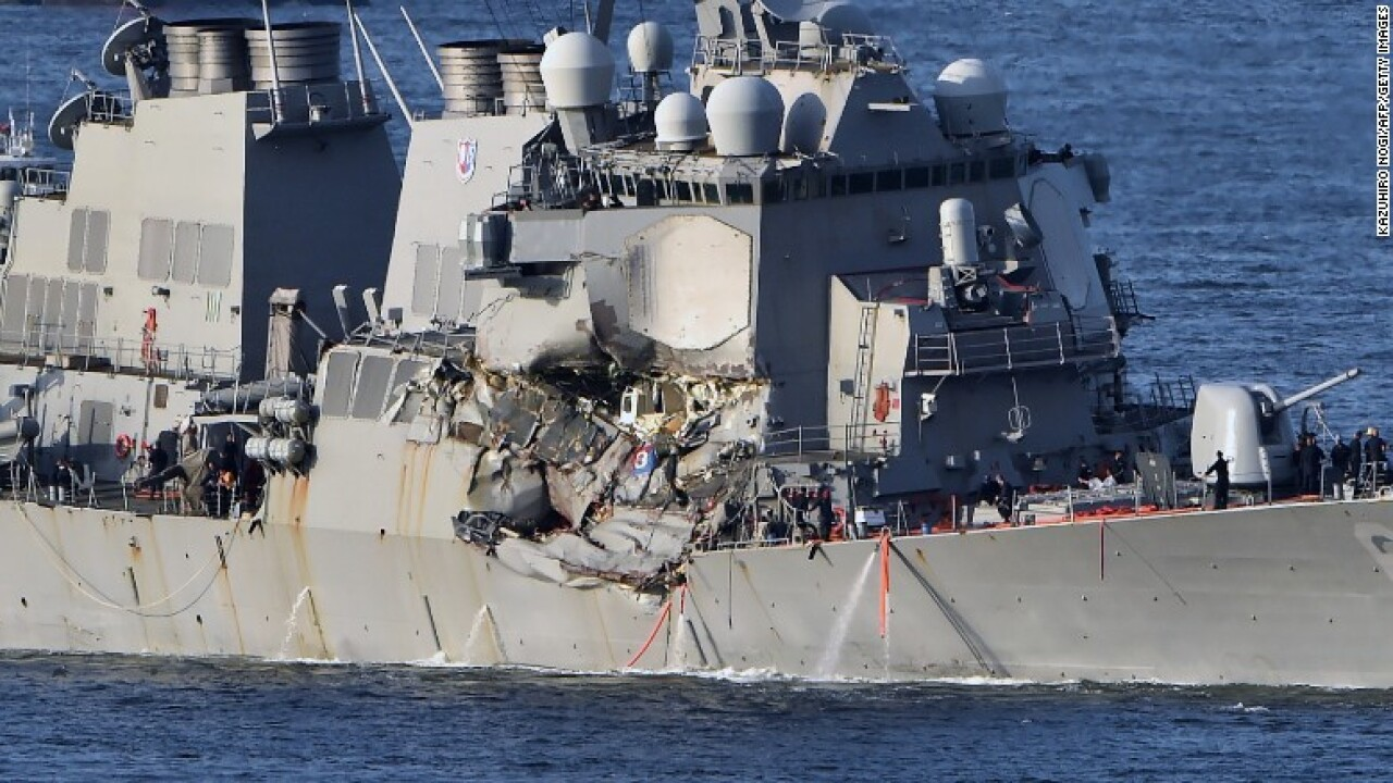 USS Fitzgerald to be repaired at Ingalls Shipbuilding in Mississippi