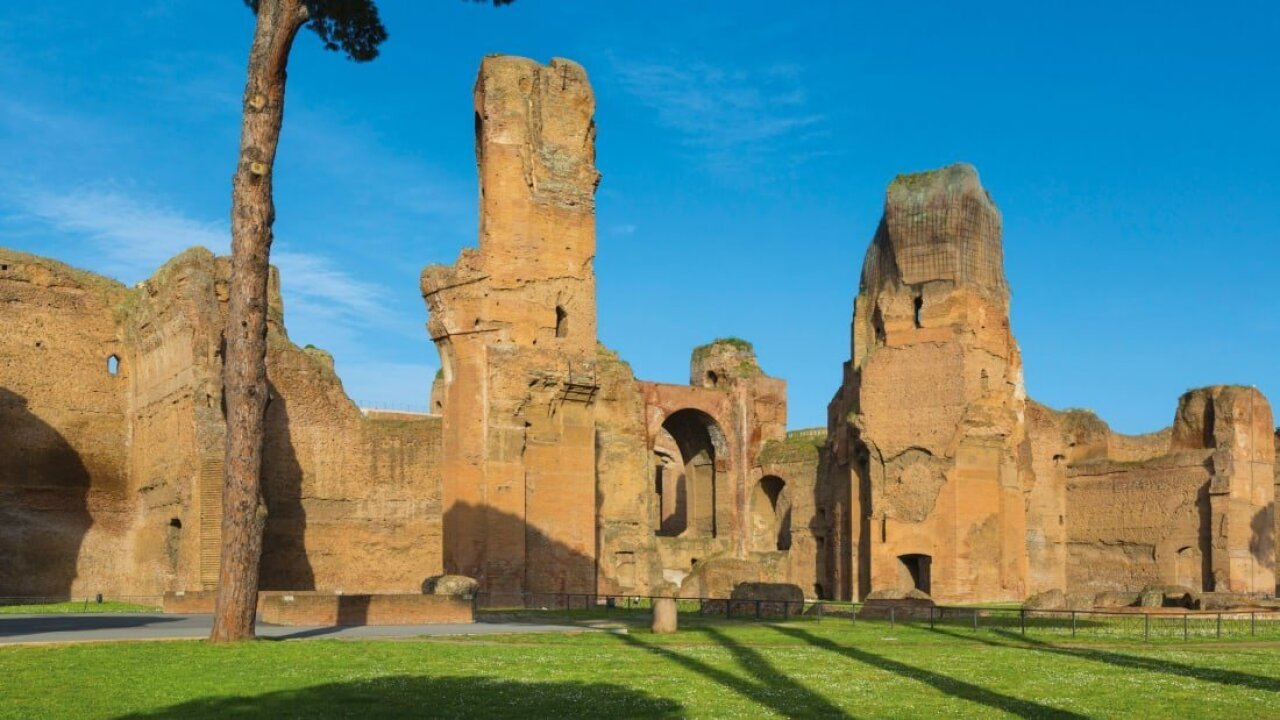 McDonald's banned from site near ancient Rome baths
