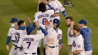 Indians Cubs Baseball