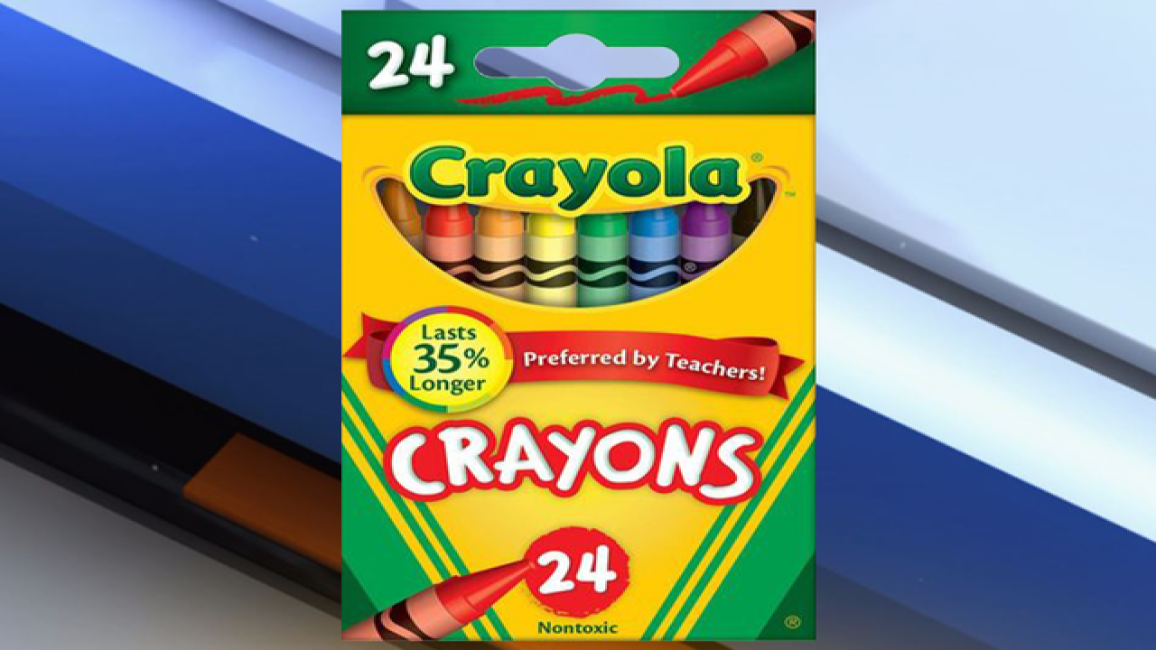 So long, dandelion: Crayola retiring crayon