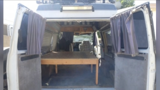 Man builds and donates vans to homeless veterans