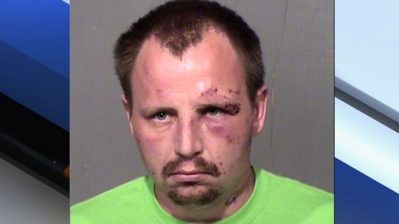 PD: Naked man attacks woman in Phoenix home