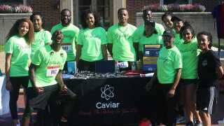 'Positively Caviar' mentors and motivates local youth through positive thinking movement