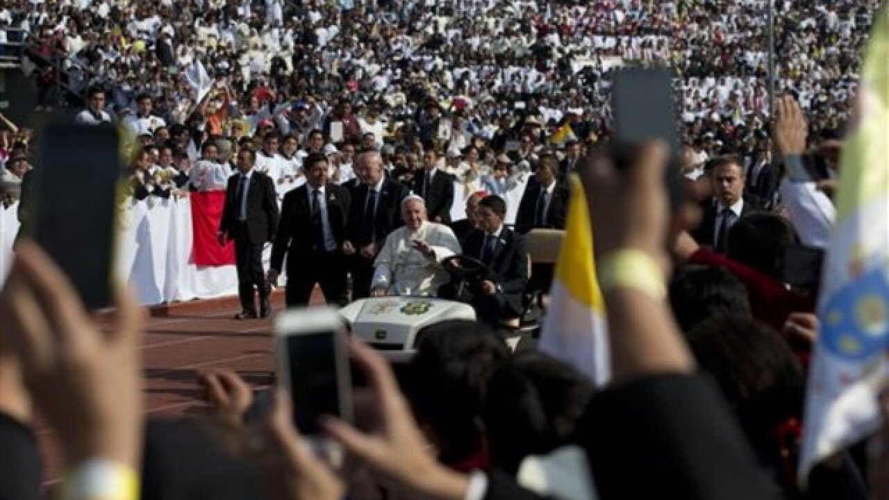 Francis to priests: Don't resign to status quo
