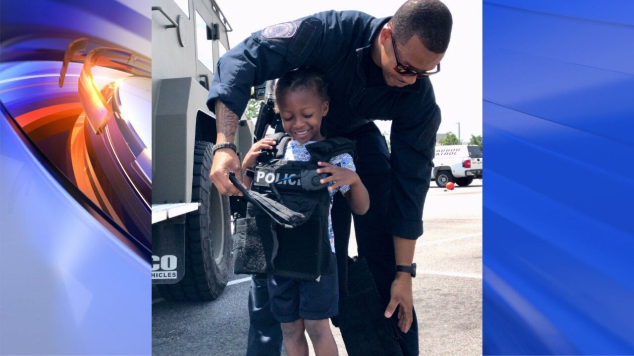 Community enjoys 'Touch -A-Truck' with Norfolk police, first responders