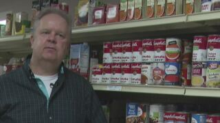 Great Falls Community Food Bank director Shaun Tatarka