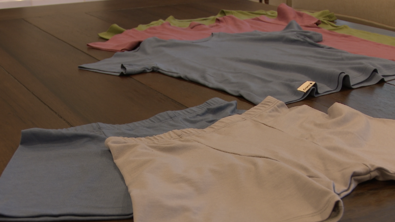 East Grand Rapids mom launches clothing line inspired by son's skin issues