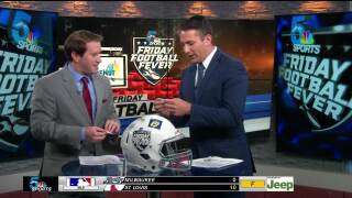 Friday Football Fever - Week 3 (Helmet Stickers)