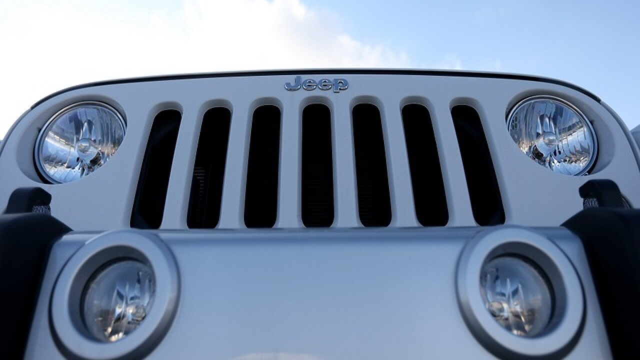 Fiat Chrysler recalls 500,000 Jeep Wrangler SUVs